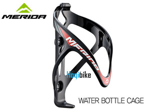 메리다 물통 케이지 Black/Red Merida Road bottle cage